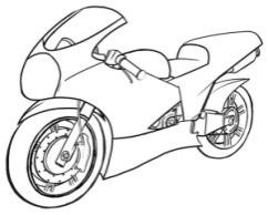Motorcycle Brake Lining
